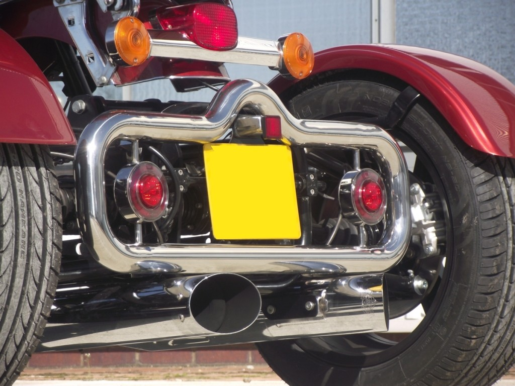 Custom Exhaust rerouting and stainless bull bar