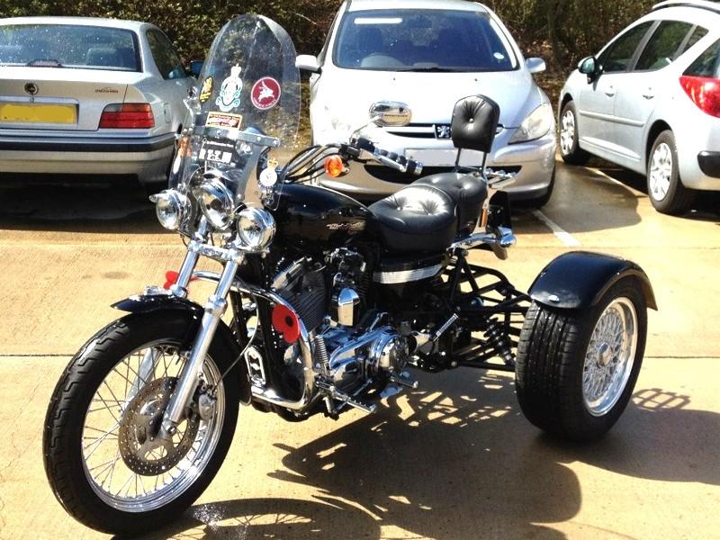Harley Davidson Bike to Trike Conversion - Gallery - Casarva