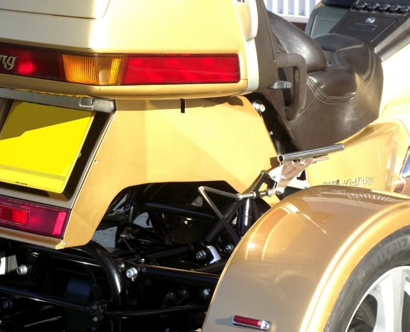 Honda GL1500 aluminium fill in panel
