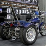 casarva harley dyna wide glide stainless steel trike conversion