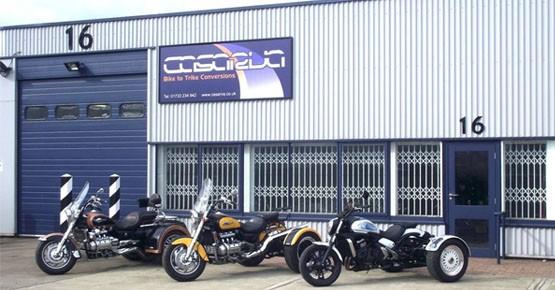 Casarva Trikes Workshop - Peterborough UK