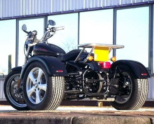 Casarva Harley Sportster Trike with Belt Drive