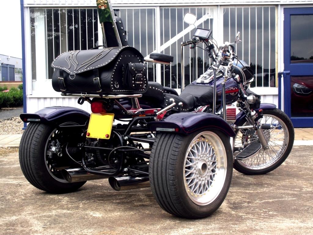 Casarva Harley Dyna Wide Glide Trike (Chain conversion)