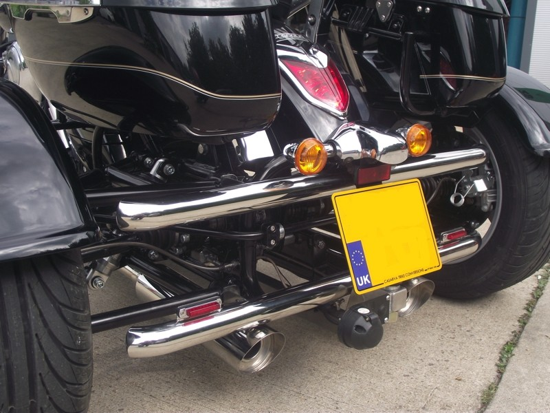 Casarva Parallel Polished Stainless Bull Bars