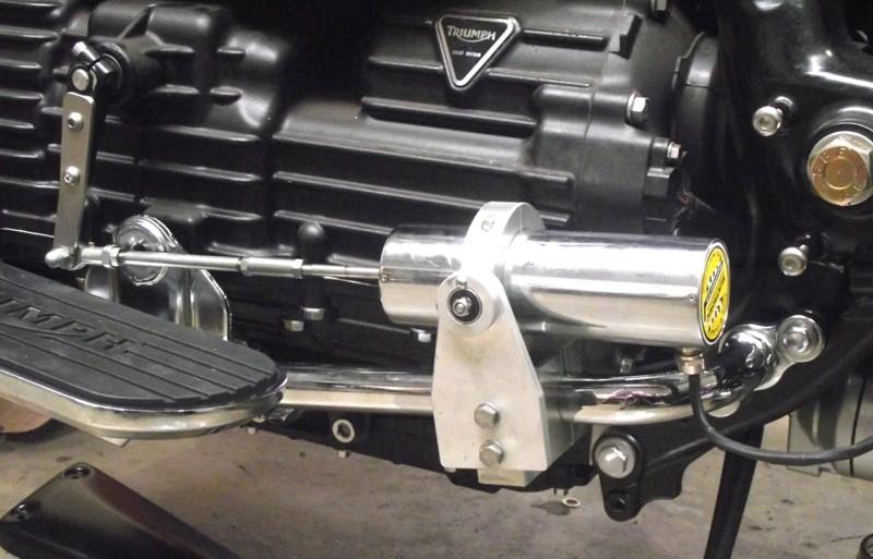 Kliktronic gear shifter solenoid