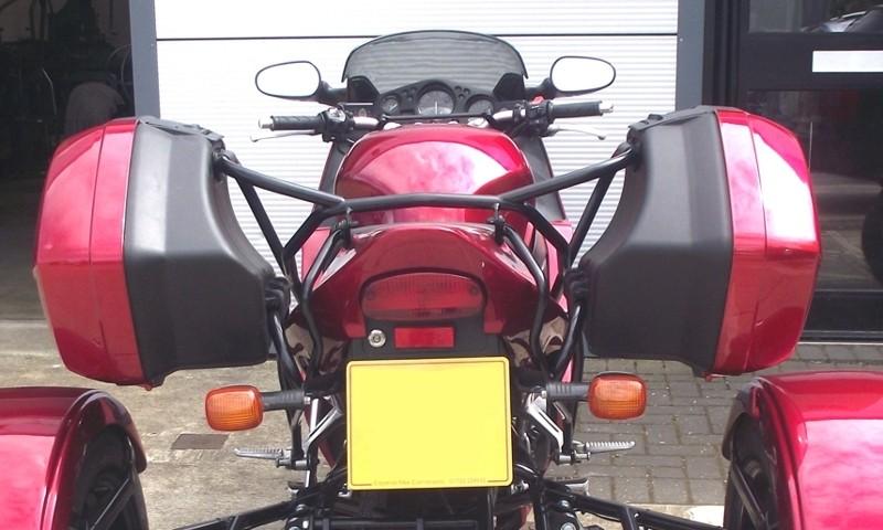 Honda Blackbird Rear OEM Panniers relocation brackets