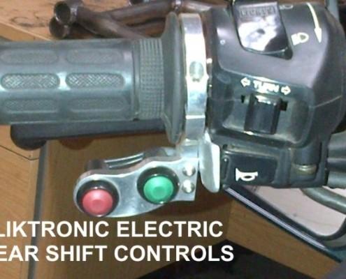 Kliktronic gear shifter buttons
