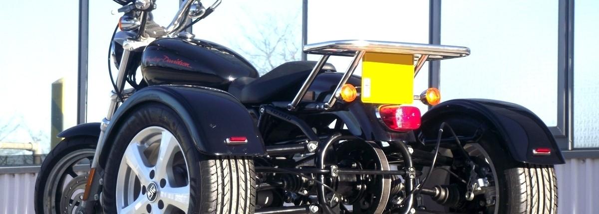 Casarva Sportster 883 XL SWB trike