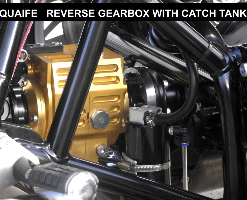 Quaife Shaft Drive Reverse gearbox and catch tank