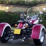 Casarva VT750 Shadow Trike with Reverse