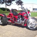 Casarva HD Sceamin' Eagle VRSCSE CVO VROD trike
