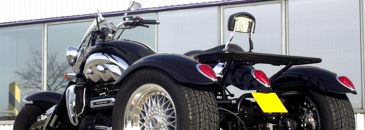 Casarva Triumph Rocket 3 trike