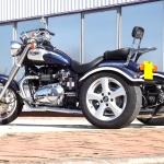 Casarva Bonneville America 865 trike