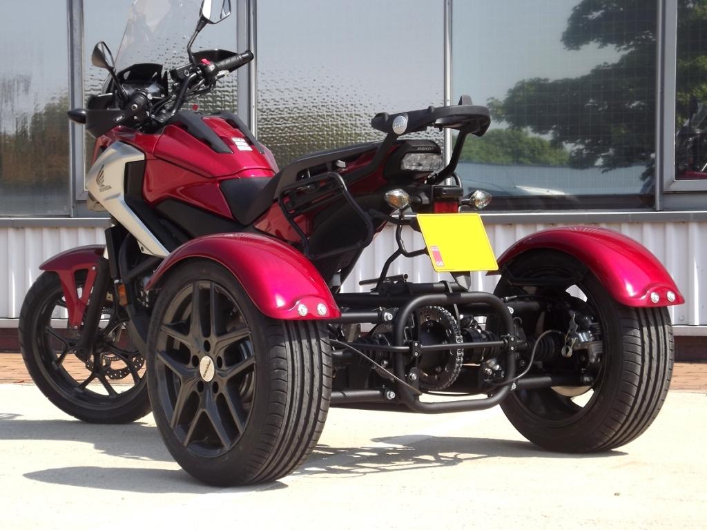 Casarva Honda NC750X DCT trike