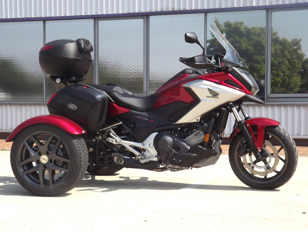 Casarva Honda NC750X DCT Trike with IRS