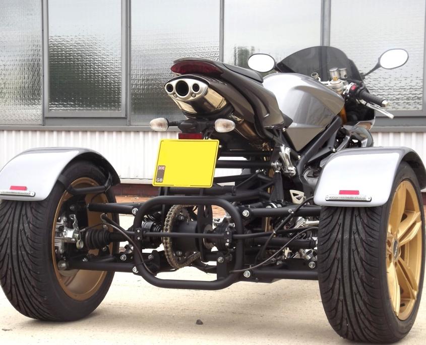 Casarva Triumph Daytona 675 Trikes
