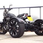 Casarva Yamaha V-MAX 1200 Full Power Trike with Casarva Elite Reverse Gearbox