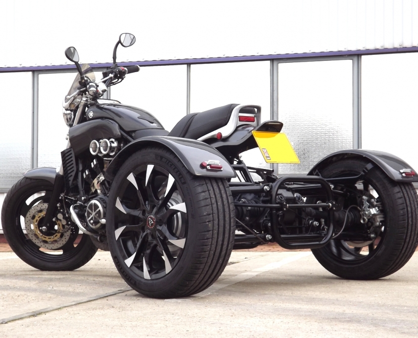 Casarva Yamaha V-MAX 1200 Full Power Trike with Casarva Elite Reverse Gearbox