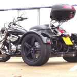 Casarva Yamaha XVS 950 Midnight Start trike with reverse
